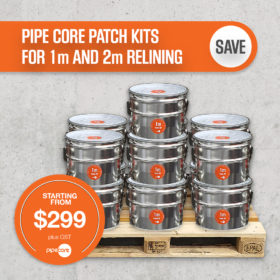 Pipe Core Patch Kits